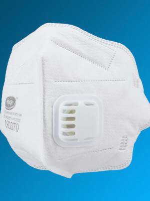 FFP2 Atemschutzmaske mit Ausatemventil und CE Zulassung nach Norm EN149: 2001 + A1:2009