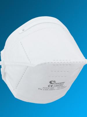 FFP3 Atemschutzmaske Laianzhi TP301 mit CE Zulassung EN149: 2001 + A1:2009 und elastischem Kopfband