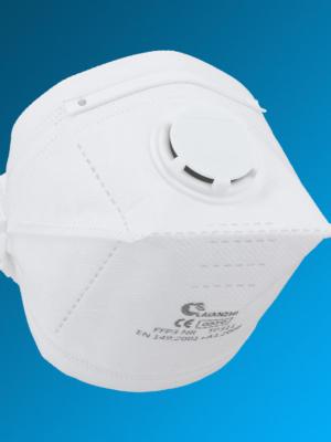 FFP3 Atemschutzmaske Laianzhi TP311 mit Ausatemventil I CE Zulassung EN149: 2001 + A1:2009 und elastischem Kopfband